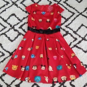 Disney Tsum Tsum Red Dress